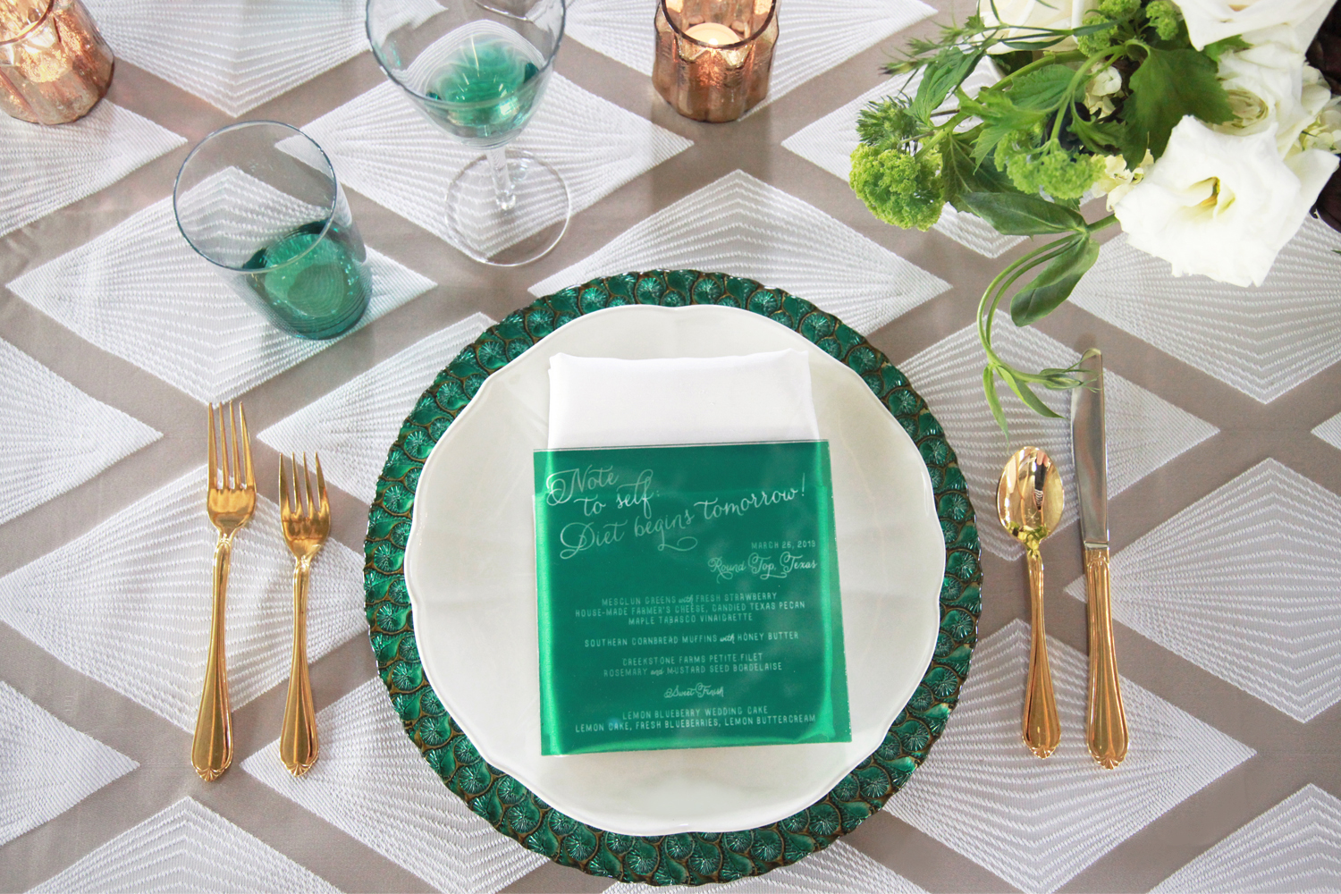 ISWD Destination Event Planners: Green Glam Event