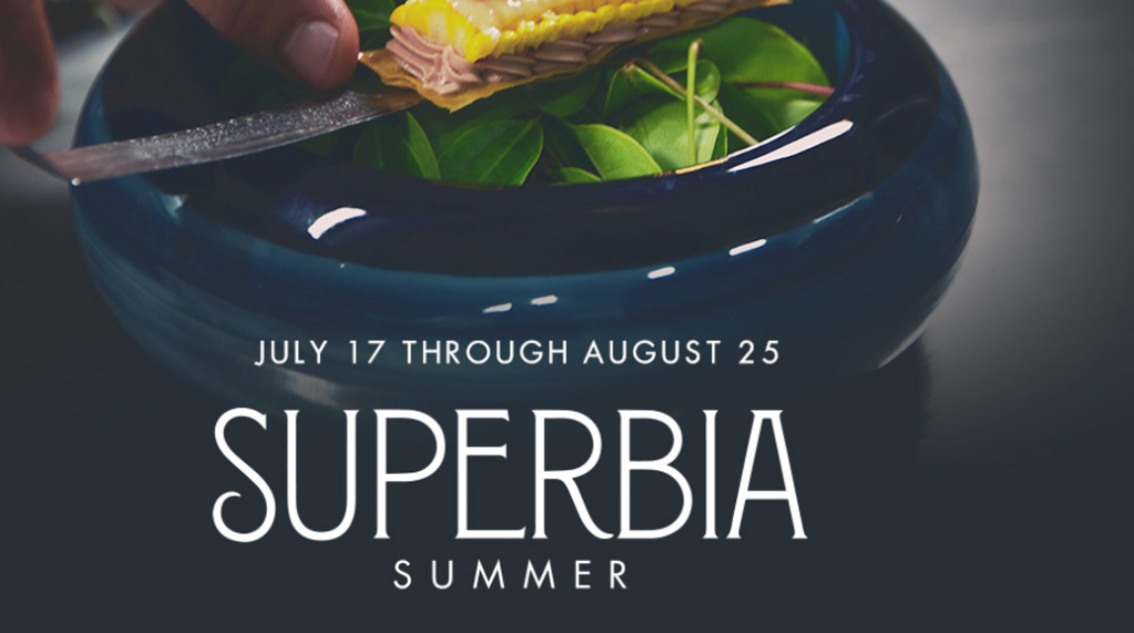 This Summer Superbia is Back and ISWD Travelers will be joining this party! 6 WEEKS - 6 CHEFS - 8 MICHELIN STARS ISWD Group Travelers will be here From August 1 to 4, August 8 to 11 and August 15 to 18th) the hotel's ultimate culinary experience will feature 6 chef restaurant takeovers with talent coming from Michelin Star rated and 5 Star Diamond Award winning restaurants, sommelier wine pairings, tequila tastings, bar takeovers by top mixologists, handcrafted cocktails, and pool parties. COME AND JOIN OUR PARTY! Email: info@iswdeventstravel.com